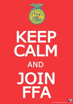 Keep Calm and Join FFA