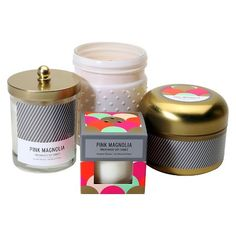 SOHO Brights Pink Magnolia Candle Collection : Target