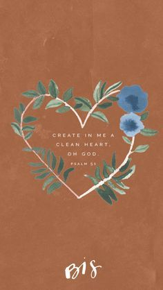 bible quotes Week of Lent // Psalm // A clean heart create for me, God; renew within me a steadfast spirit. // Blessed is She Bible Verses Quotes, Bible Scriptures, Faith Quotes, Easter Bible Verses, Psalms Verses, Jesus Quotes, Bibel Journal, Psalm 51, Blessed Is She