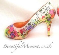 Beautiful Occasion Art, Hand Painted Shoes, visit website for information.