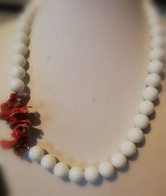 Jewerly, Pearl Necklace, Coral, Pearls, Bracelets, String Of Pearls, Jewlery, Schmuck, Beads