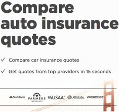 Top 6 Best Sites To Compare Car Insurance Rates Quotes Insurance Comparison Compare Car Insurance Car Insurance