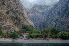 The gorgeous Butterfly Valley can be reached from Olu Deniz main beach. It is located in the Fethiye region on the Mediterranean coast of Turkey Places To Travel, Places To See, Turkey Country, Holiday Places, Holiday Resort, Turkey Travel, The Good Place, Traveling By Yourself, Coastal