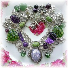Butterfly Charm Bracelet by thevintageheart, via Flickr