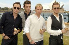 Westlife - Shane, Mark, Kian and Nicky