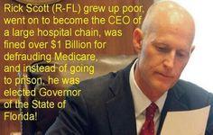 Rick Scott Florida  governor
