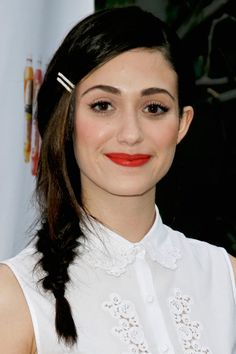 17 Celebrity-Approved Hairstyles for the First Day of School: Emmy Rossum's Fantastic Fishtail 10 (Affordable) Beauty Secrets Every Girl Sho. Celebrity Hairstyles, Braided Hairstyles, Cool Hairstyles, Beautiful Buns, Beautiful Braids, Hair And Makeup Tips, Hair Makeup, Casual Braids, Big Hair Dont Care