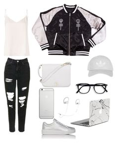 """Untitled #3"" by natashazein on Polyvore featuring L'Agence, Prada Sport, Furla, Topshop, Native Union and Beats by Dr. Dre"