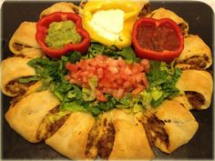 Pampered Chef Taco Ring Recipe | Mommy's Fabulous FindsMommy's Fabulous Finds