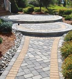 front walkway ideas double circle steps front walkway ideas make your