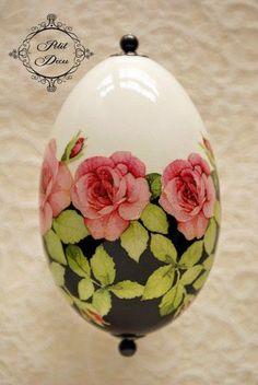 Милые сердцу штучки: Пасхальные яйца от Petit Decu: огромное количество стильных идей и МК