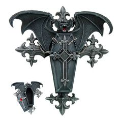 Vampire Bat Coffin Vamp Box by Anne Stokes [8081] - $29.99 : Mystic Crypt, the most unique, hard to find items at ghoulishly great prices!