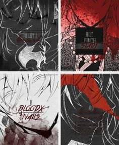 ♪You left a trail / Right from the start / Of bloody nails / And broken hearts♪ ||| Jack Vessalius ||| Pandora Hearts [Bloody Nails and Broken Hearts - Billy Talent]