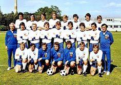 EQUIPOS DE FÚTBOL: SELECCIÓN DE ALEMANIA DEL ESTE 1973-74