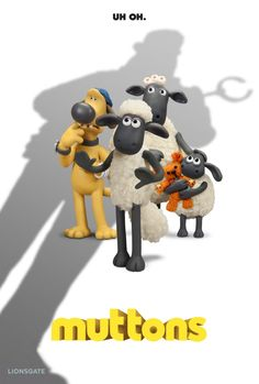 Shaun The Sheep Animated Movie Posters New Breeds