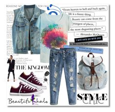 """""""Beautifulhalo 9"""" by mery66 ❤ liked on Polyvore featuring FOSSIL, Aéropostale, Converse, women's clothing, women, female, woman, misses, juniors and beautifulhalo"""