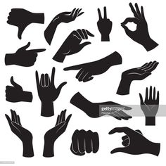 View top quality illustrations of Hand Gesture Icon Collection Vector Art. Find premium, high-resolution illustrative art at Getty Images. Hand Illustration, People Illustration, Hands Icon, Free Vector Art, Vector Vector, Vector Hand, Icon Collection, Hand Art, Free Illustrations