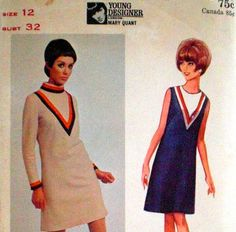 Butterick 4420 Mary Quant