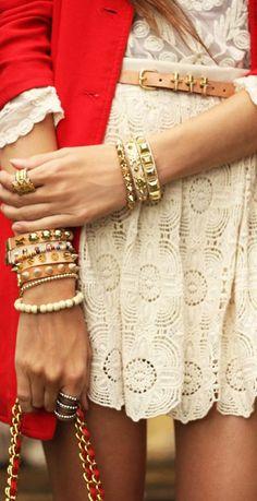 bracelets: Kafé,  Bijouterie