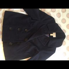 navy blue forever 21 peacoat navy blue great condition Forever 21 Jackets & Coats Pea Coats