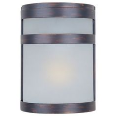 Maxim Lighting Arc H Oil Rubbed Bronze Medium Base Outdoor Wall Light at Lowe's. Arc, a contemporary style collection from Maxim Lighting made out of stainless steel, features both indoor and outdoor wall sconces available in two Modern Outdoor Wall Lighting, Led Outdoor Wall Lights, Outdoor Wall Lantern, Outdoor Walls, Modern Ceiling, Outdoor Flush Mounts, Outdoor Wall Sconce, Wall Sconce Lighting, Wall Sconces