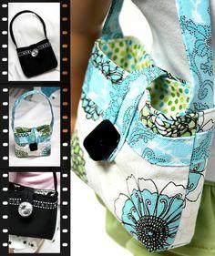 The Urban Handbag Purse Pattern. Download, Print, Sew...
