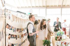 Wedding Guests - Greenery wedding at Hexham Winter Gardens | Images by Sarah-Jane Ethan Photography