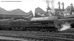 LNWR Prince of Wales Class by Cooke at Crewe/Beardmore/North British Electric Locomotive, Steam Locomotive, Holland, Steam Railway, Railway Posters, British Rail, Train, Steam Engine, Africa Travel