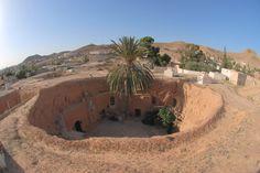 Cave house, Matmata, Tunisia