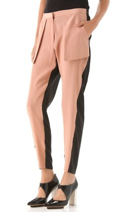 I would happily be a slack-er for these. // Dion Lee via ShopBop