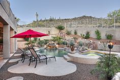 Desert Oasis - dream backyard