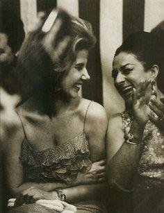 Cayetana de Alba y Lola Flores