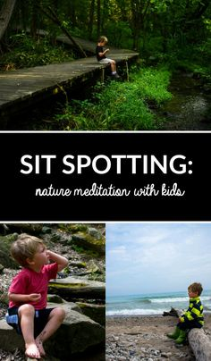 Sit spotting is an observant type of meditation in nature that not only calms the mind, but soothes your senses with the sounds, touch and feel of nature. Forest School Activities, Nature Activities, Outdoor Education, Outdoor Learning, Outdoor Play, Outdoor Classroom, Outdoor School, Sit Spots, Mindfulness For Kids
