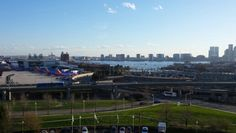 Overlooking downtown Boston and Logan airport
