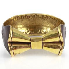 Find it at the Foundary - Brass Bow Bangle