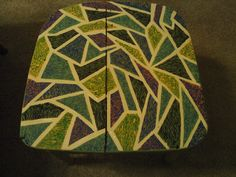Painted Chair Seat