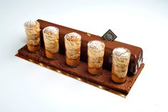 Bûche Paris Brest Express - Christophe Roussel Christophe Roussel, Log Cake, Chocolate Pastry, Yule Log, French Pastries, Wedding Desserts, Molecular Gastronomy, Beautiful Cakes, Cake Pops