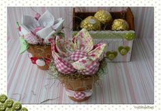 Vasinhos de Flores e Caixinha Coração | Flickr - Photo Sharing!