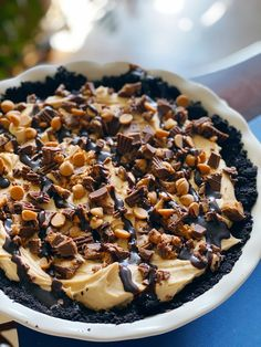The fluffiest, creamiest, peanut butter pie recipe
