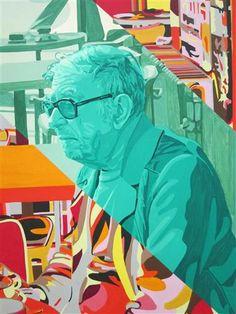 Jean-Paul Sartre - Gerard Fromanger - Pop Art 1976