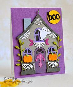 My Joyful Moments: Poppystamps Challenge #1- Falloween Fun