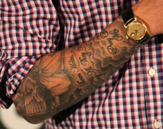 Forearm Cloud Tattoos For Men