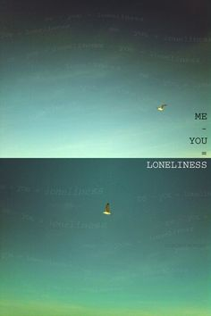 me - you :: loneliness by ~novembro
