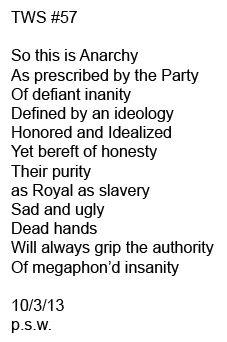 So...Anarchy