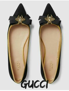 Gucci Bee Flats + NEED these for the day I defend my thesis!
