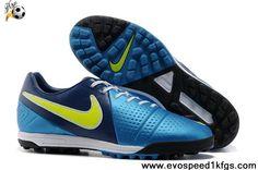 Fashion Turf Black White Blue Nike CTR360 Libretto III TF Boots Store