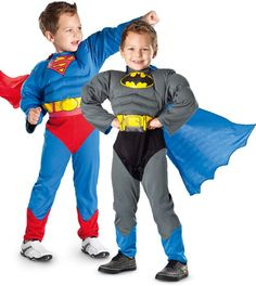 Superman/Batman Reversible Costume Superman, Batman, Toy Sale, Xmas, Costumes, Style, Fashion, Swag, Moda