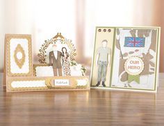 #TatteredLace George and Bella Wardrobe Multibuy #cardmaking samples! Available to buy tonight at 9PM on Ideal World! - http://www.idealworld.tv/ShowGridView.aspx?showId=2500323 #papercraft #craft