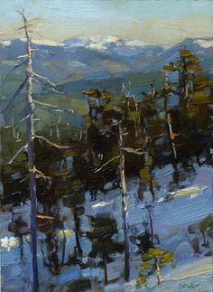 Jim McVicker Paintings: Sewell Gallery-Recent Landscapes