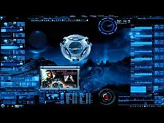 One of my favorite blue custom made theme for windows 7. It is fully customizable